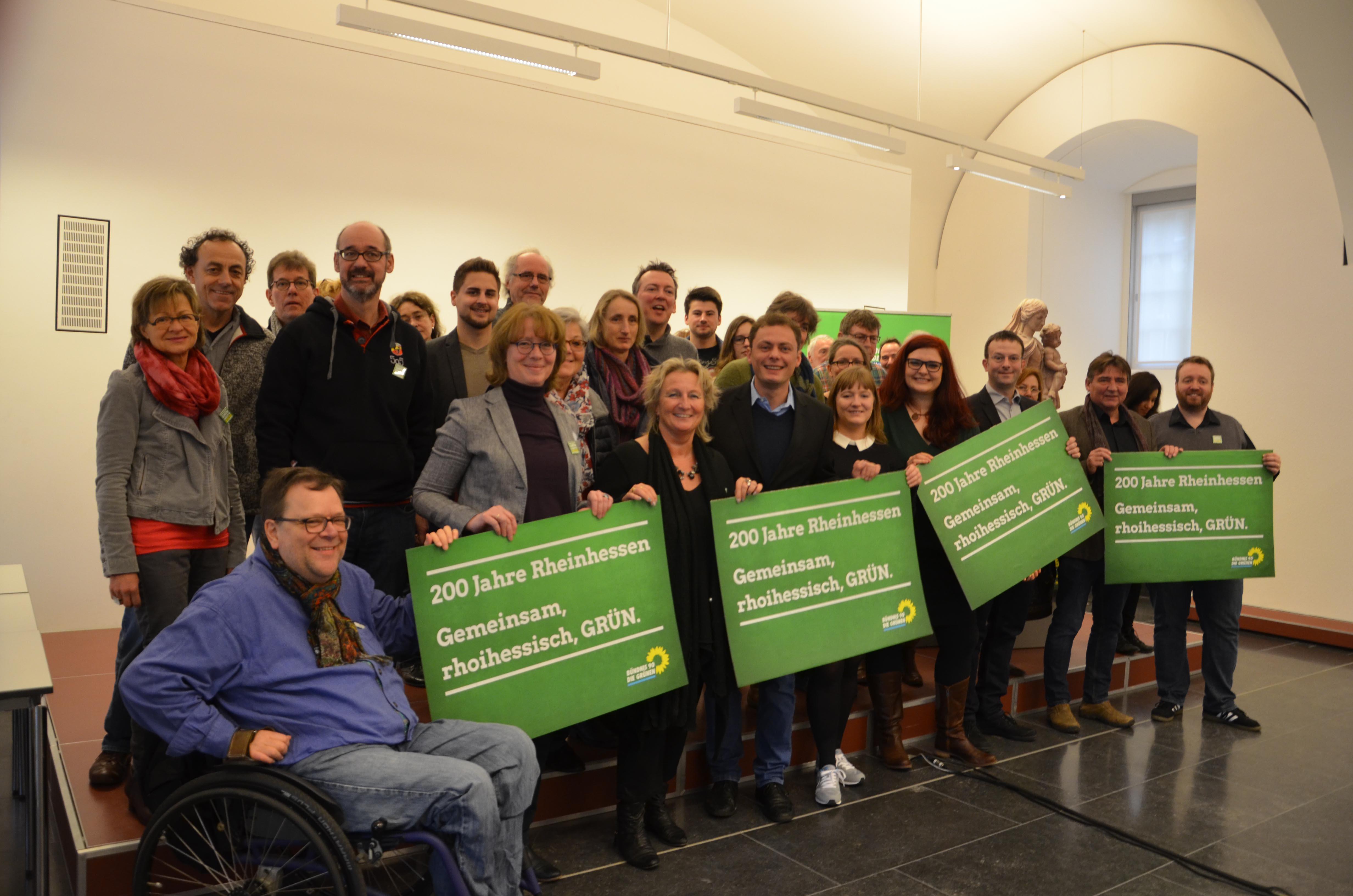 Rheinhessische GRÜNE starten gemeinsam ins Jubiläumsjahr 2016