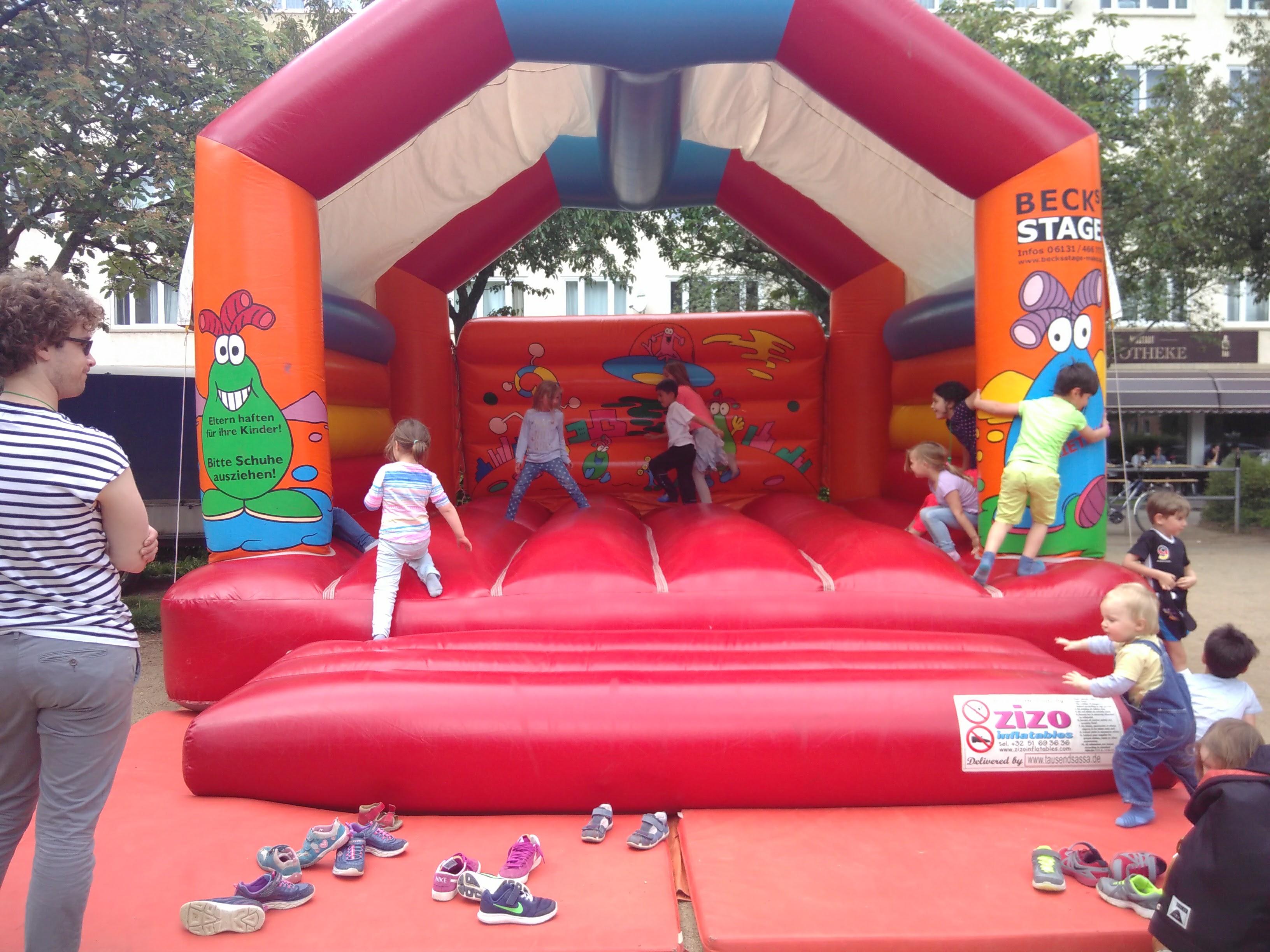 Spielplatzfest auf dem Frauenlobplatz
