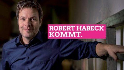 Robert Habeck kommt