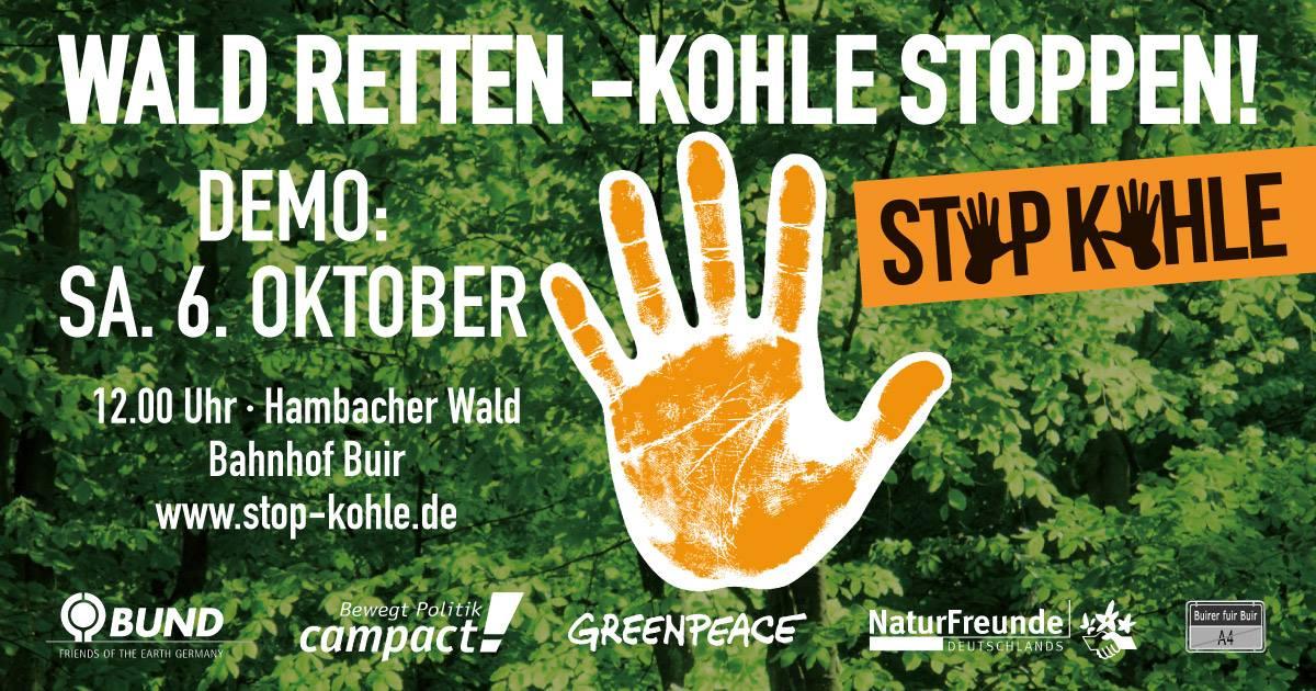 Wald Retten – Kohle Stoppen!