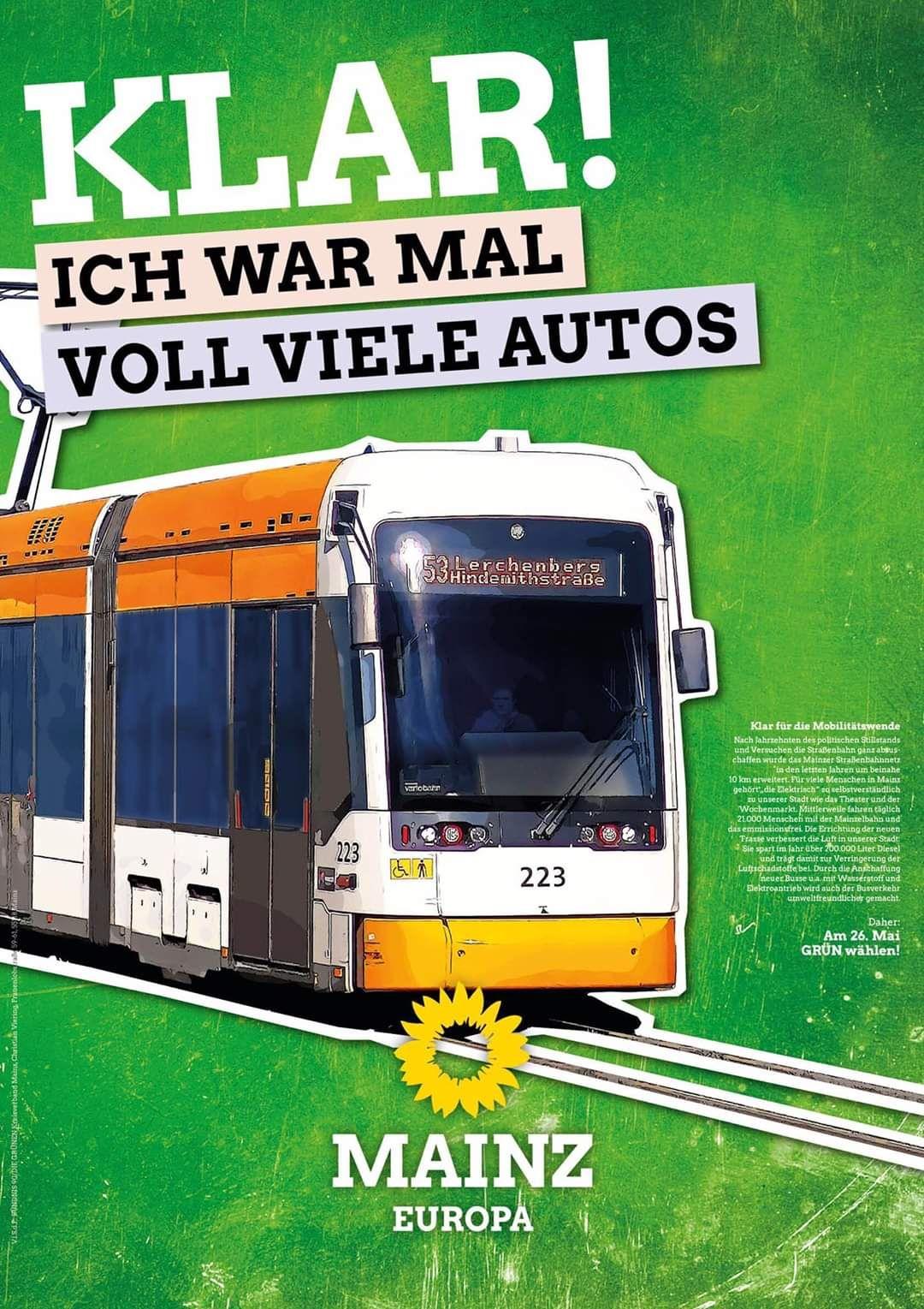 Mainzer Ampelkoalition steht fest hinter der CityBahn