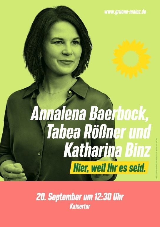 Annalena in Mainz!